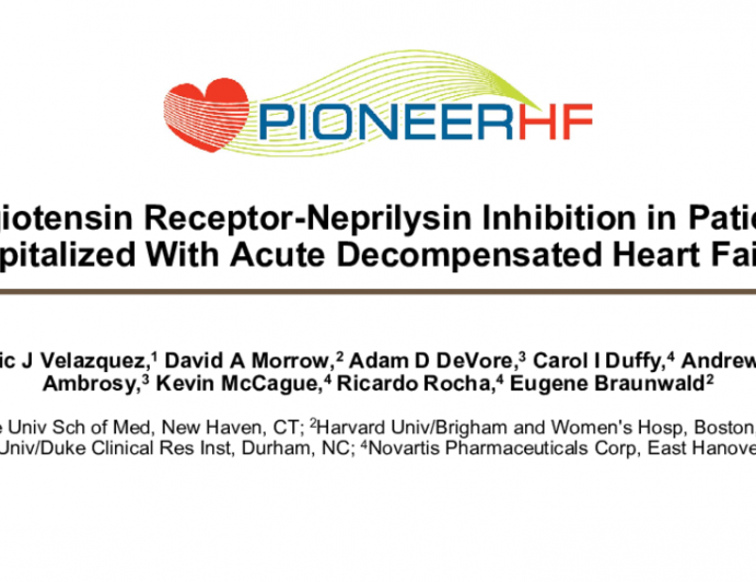 Angiotensin Receptor-NeprilysinInhibition in Patients Hospitalized With Acute Decompensated Heart Failure