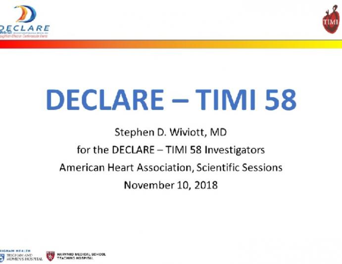 DECLARE - TIMI 58