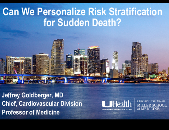 Can We Personalize Risk Stratification for Sudden Death?