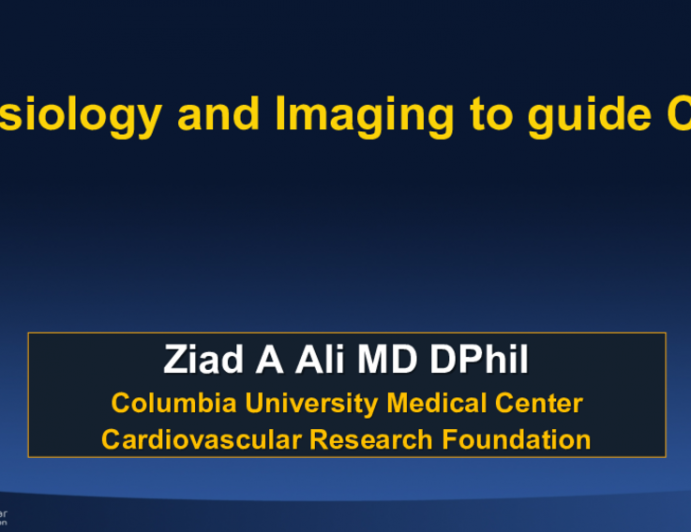 Physiology and Imaging to guide CHIP