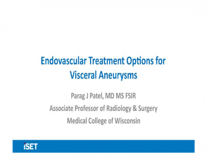 Endovascular Treatment Options for Visceral Aneurysms