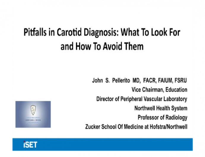 Pitfalls in Carotid Diagnosis: What To Look For and How To Avoid Them