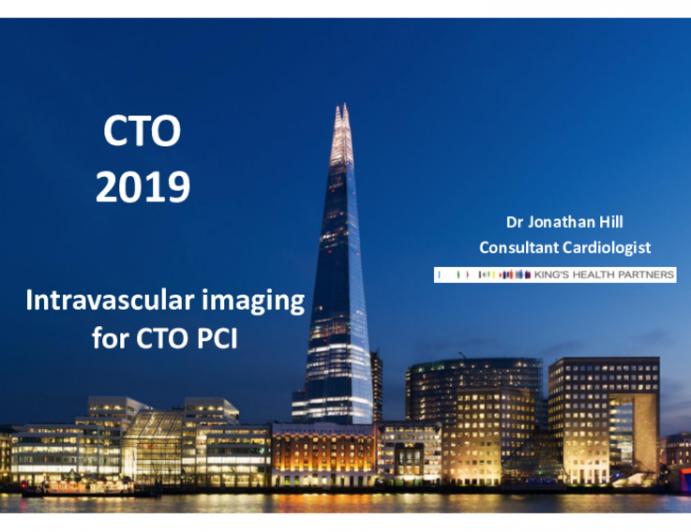Intravascular Imaging in CTO PCI