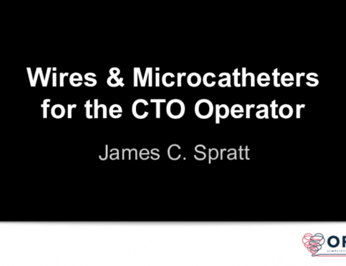 Wires and Microcatheters for the CTO Operator