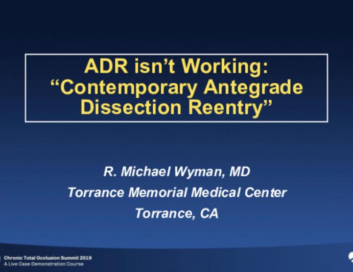 ADR Isn't Working