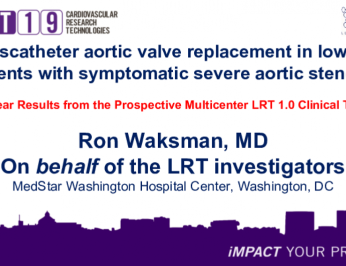 Transcatheter aortic valve replacement in low-risk patients with symptomatic severe aortic stenosis