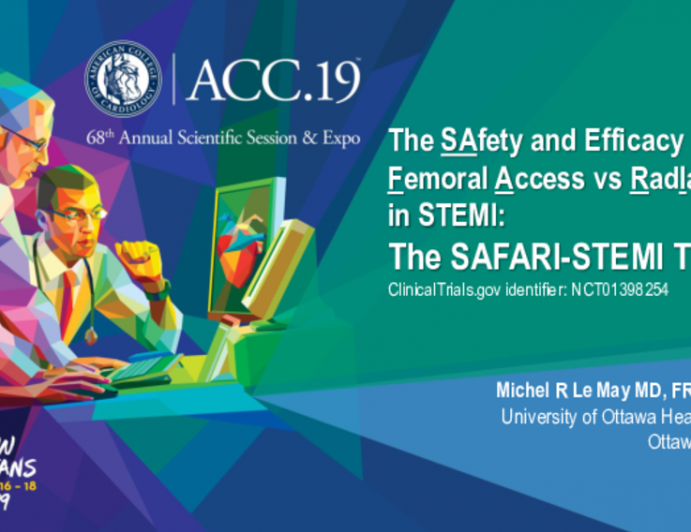 The SAfety and Efficacy of Femoral Access vs RadIal Access in STEMI: The SAFARI-STEMI Trial