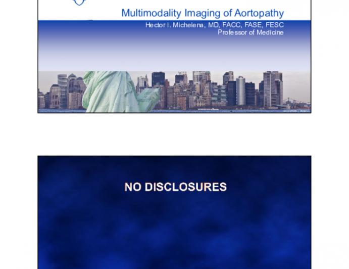 Multimodality Imaging of Aortopathy