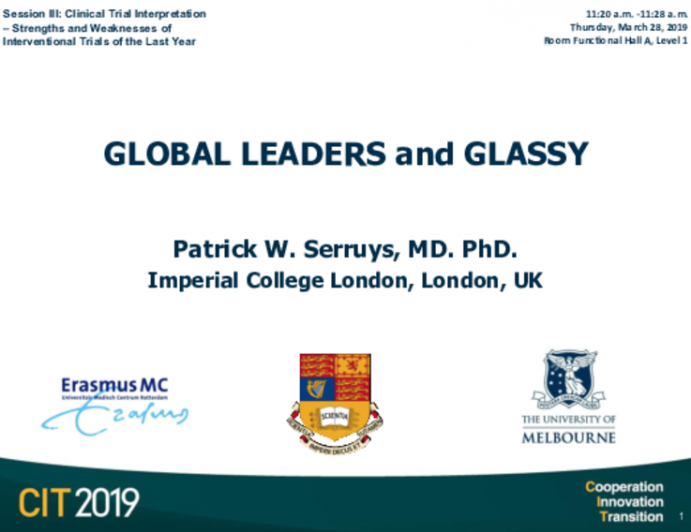 GLOBAL LEADERS and GLASSY