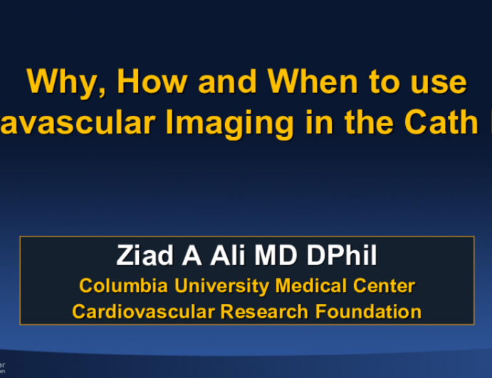 How and When to Use Intravascular Imaging in the Cath Lab