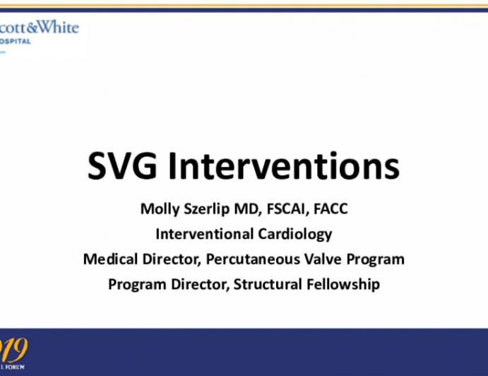 SVG Interventions