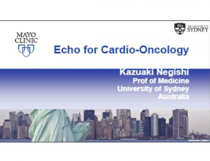 Echo for Cardio-Oncology