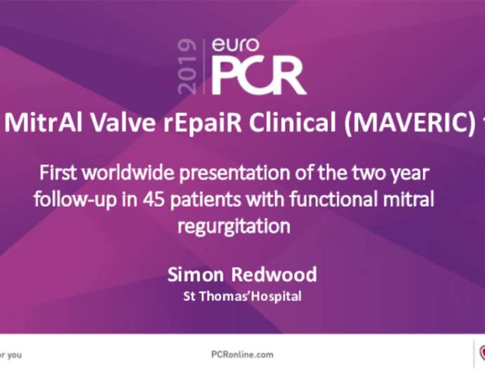 The Mitral Valve Repair Clinical (MAVERIC) trial