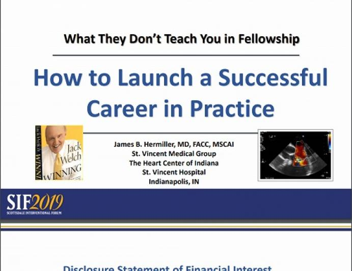 How to Launch a Successful Career in Practice