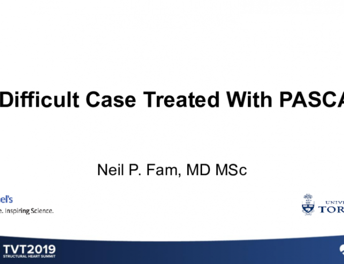 Case 3: A Difficult Case Treated With Pascal