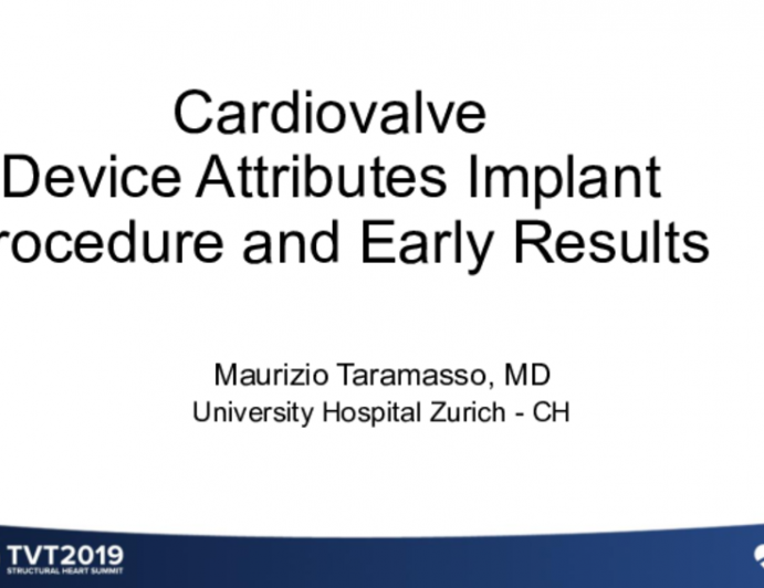 Cardiovalve: Attributes, Challenges, and Early Clinical Data