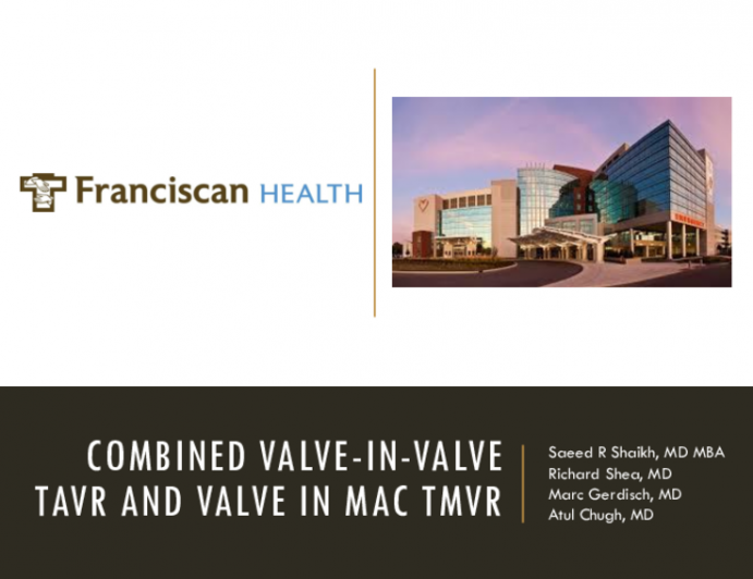 Combined Valve-in-Valve TAVR and Valve-in-MAC TMVR