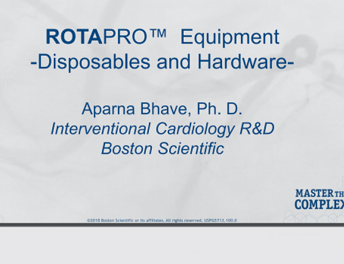 ROTAPRO™  Equipment -Disposables and Hardware