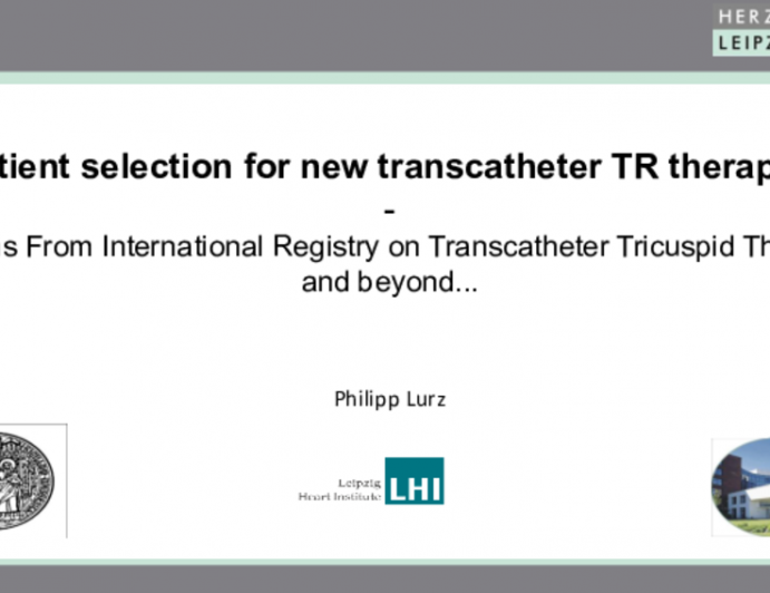 Lessons From International Registry on Transcatheter Tricuspid Therapies