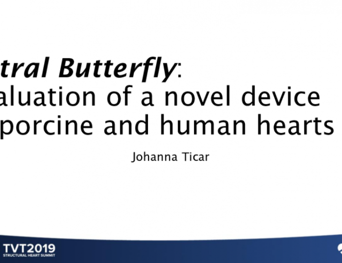 Mitral Butterfly: Evaluation of a Novel Device in Porcine and Human Hearts
