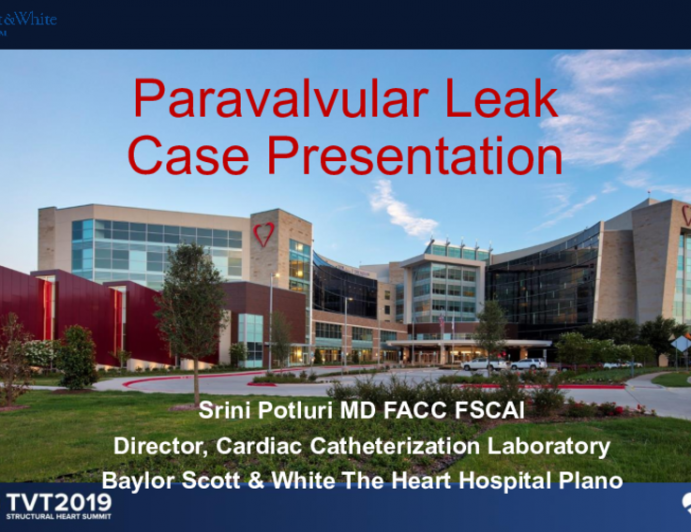 Case Presentation and Clinical Device Discussion