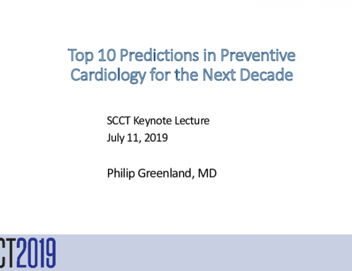 Top 10 Predictions in Preventive Cardiology for the Next Decade