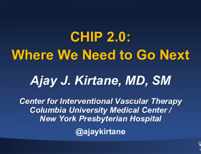 CHIP 2.0:Where We Need to Go Next