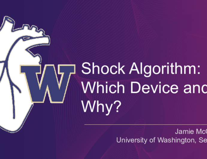Shock Algorithm: Which Device and Why?