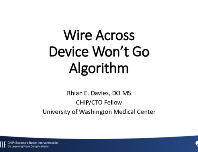 Wire Across Device Won't Go Algorithm