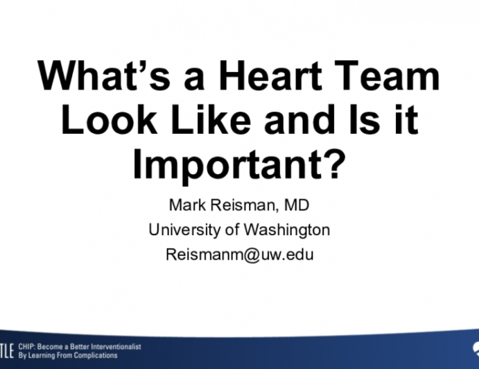 What's a Heart Team Look Like and Is it Important?