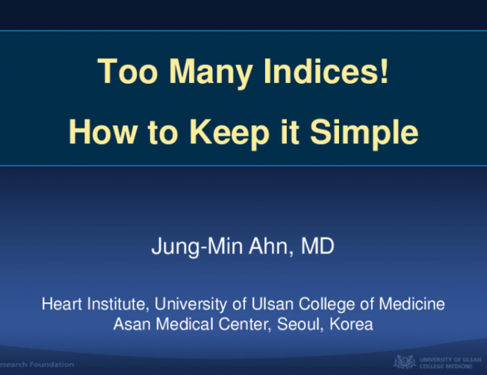 Too Many Indices! How to Keep It Simple