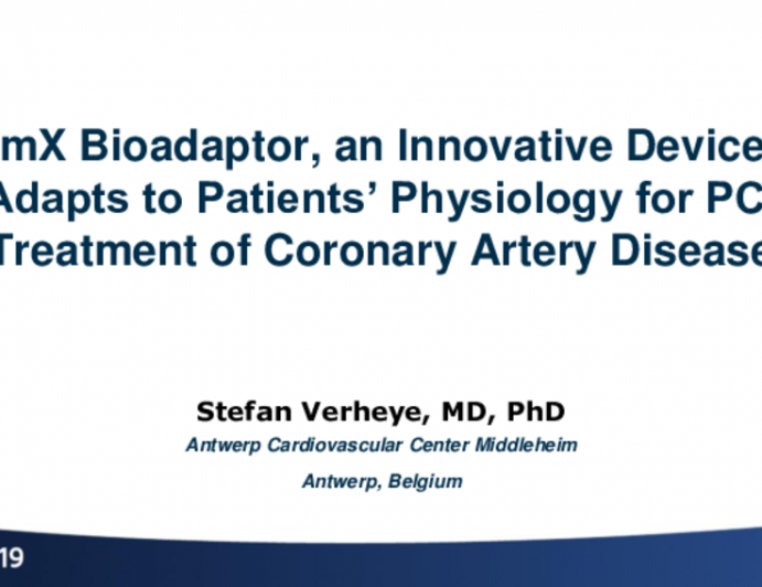 DynamX Bioadaptor, an Innovative Device That Adapts to Patients' Physiology for PCI Treatment of Coronary Artery Disease: 12-Month Clinical and Imaging Results