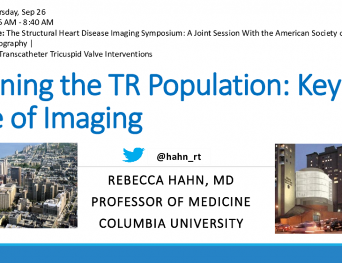 Defining the TR Population: Key Role of Imaging