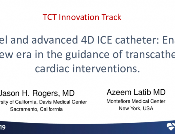 Featured Technological Trends - A Novel and Advanced 4D ICE Catheter: Enabling a New Era in the Guidance of Transcatheter Cardiac Interventions (Nuvera)