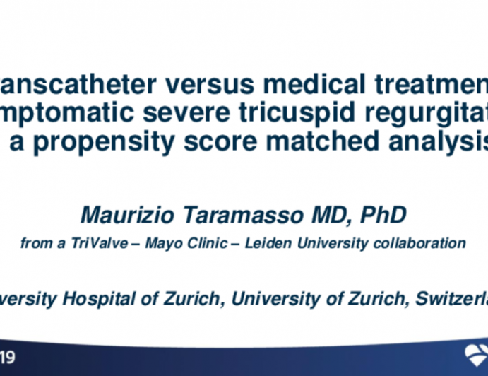 A Propensity Score-Matched Analysis of Transcatheter Tricuspid Valve Treatment vs. Medical Treatment in Patients With Severe Tricuspid Regurgitation