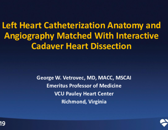 Session I Rcis Introductory Session Cardiac