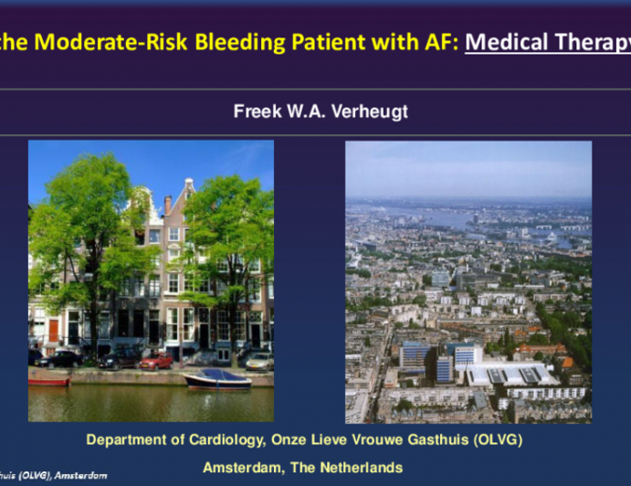 Flash Debate: TAVR in the Moderate-Risk Bleeding Patient With AF ?— Medical Therapy Is Best!