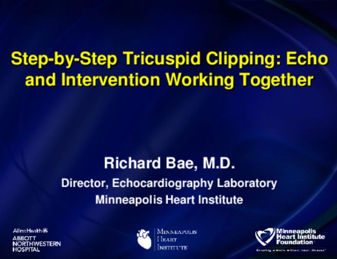 Step-by-Step Tricuspid Clipping: Echo and Intervention Working Together