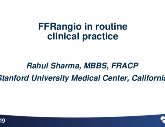 FFRangio in Routine Clinical Practice – US Experience of First 500 Cases