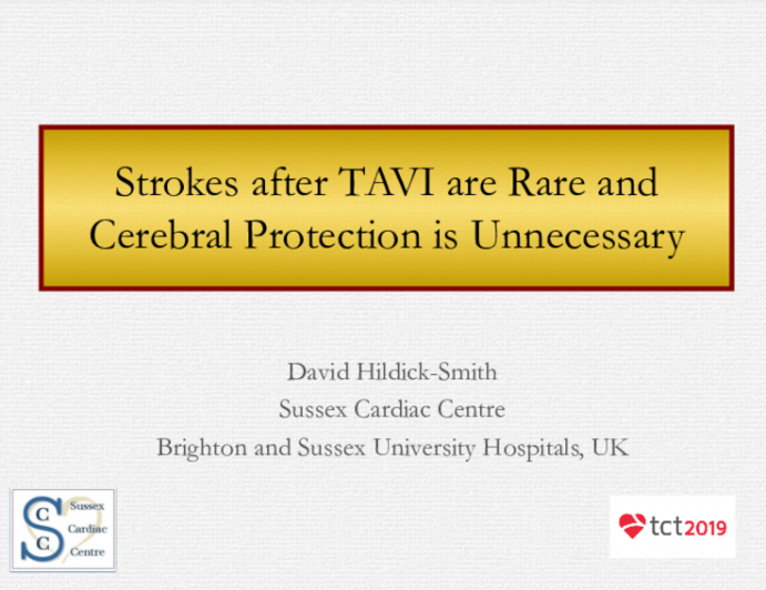 Point/Counterpoint: Provocative Views #2 - Strokes After TAVR Are Rare and Cerebral Protection Is Unnecessary