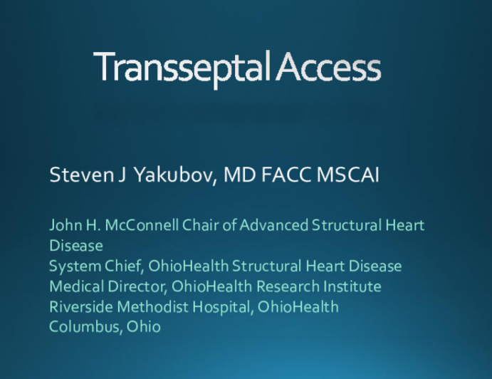 Transseptal Puncture for TMVR: Approaches for Simple and Complex Cases