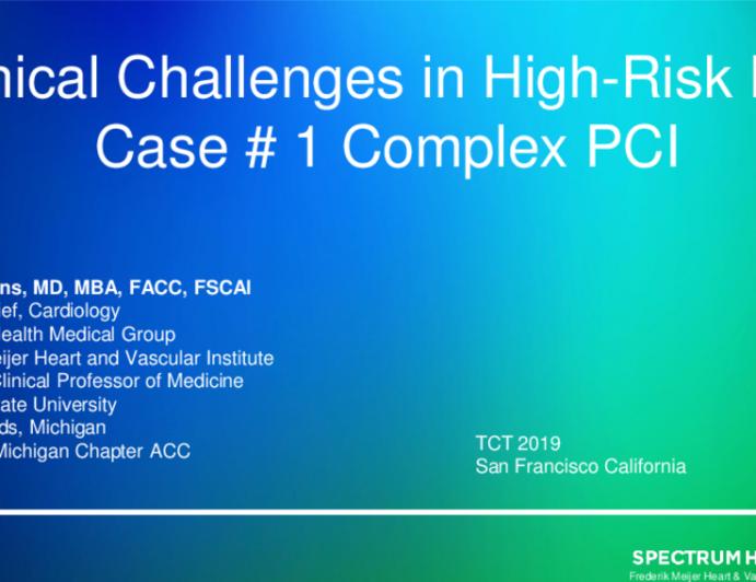 Case #1: Complex PCI