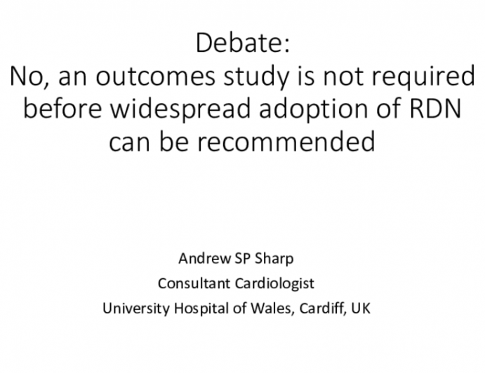 Debate: Is a Clinical Outcomes Trial Mandatory Before Widespread Adoption of Device-Based Hypertension Therapies? - No: An Outcomes Study for Device-Based Hypertension Approaches Is NOT Necessary Before Widespread Use Can Be Recommended!