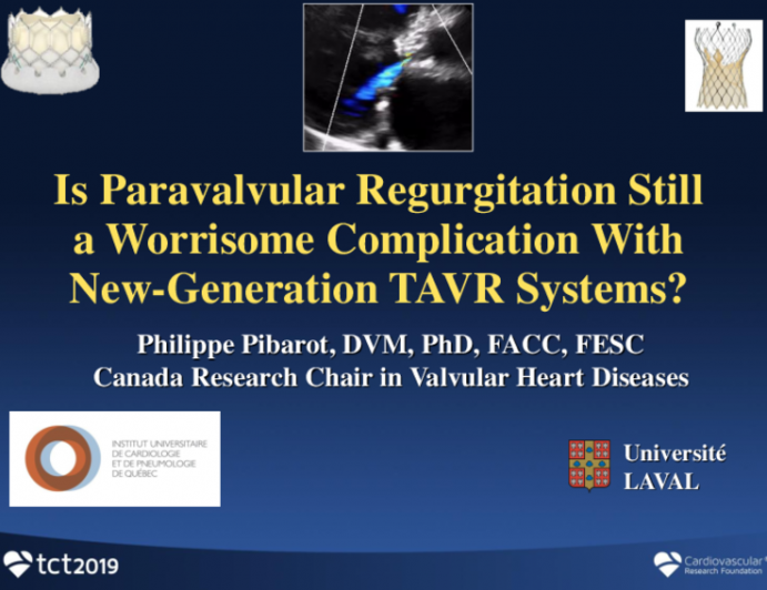 Is Paravalvular Regurgitation Still a Worrisome Complication With New-Generation TAVR Systems?