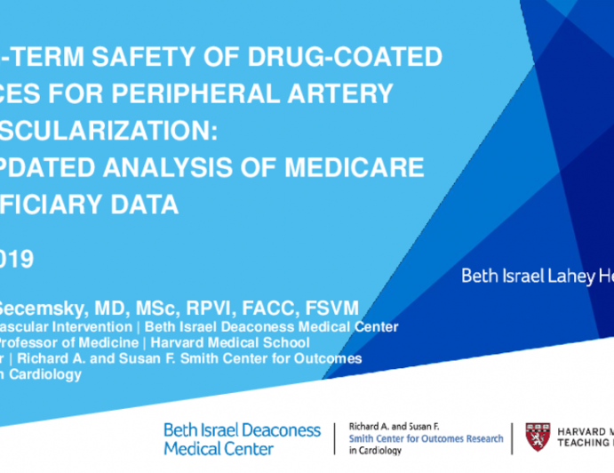 Long-Term Safety of Drug-Coated Devices for Femoropopliteal Artery Revascularization: Updated Analysis of Medicare Beneficiary Data
