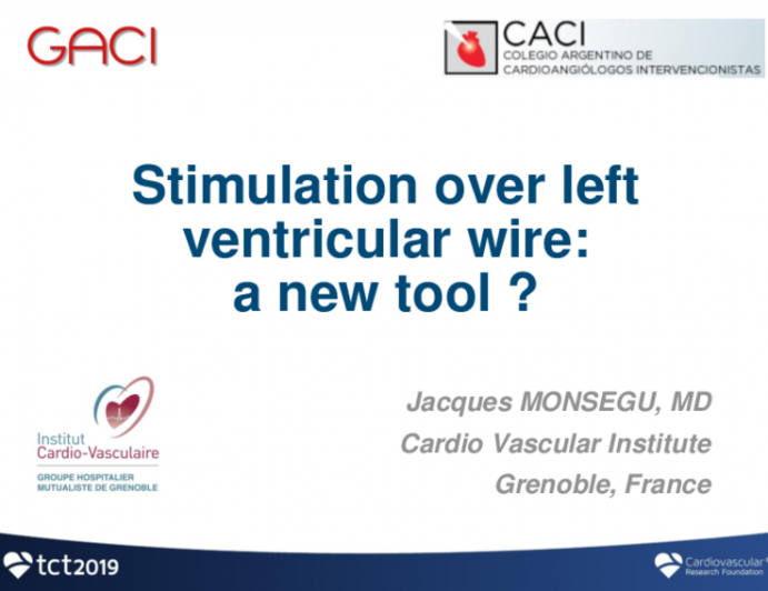 Stimulation Over Left Ventricular Wire: A New Tool?