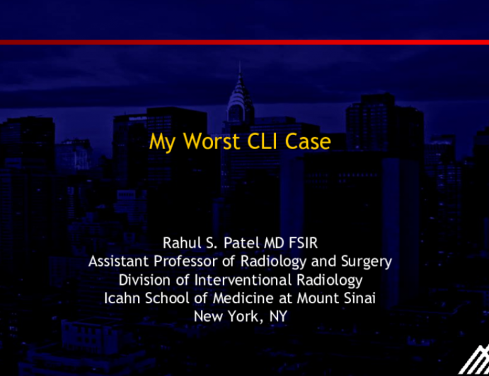 My Toughest CLI Case of the Year