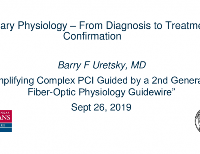 Coronary Physiology: From Diagnosis to Treatment Confirmation