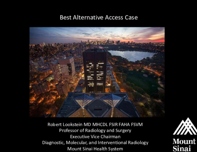 My Toughest Alternative Access Case of the Year