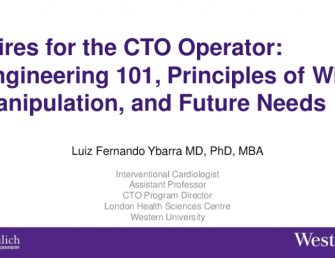 Wires for the CTO Operator: Engineering 101, Principles of Wire Manipulation, and Future Needs